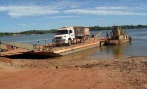 Balsa sobre o Rio Xingu retomará atividades na próxima semana (Crédito: Reprodução)