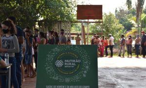 MT: Mutirão Rural atende mais de mil pessoas em quatro municípios (Crédito: Reprodução)