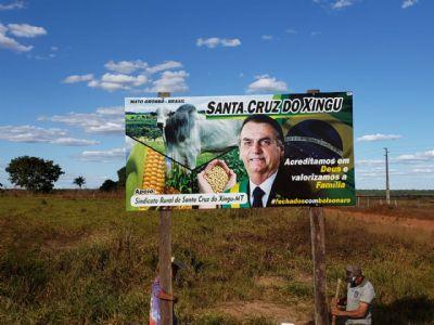 Movimento de outdoors de apoio à Bolsonaro se espalha pelo país e chega ao Araguaia