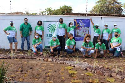 Curso de jardinagem ganha destaque em Confresa