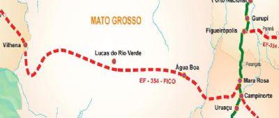 Administração de Água Boa estará no lançamento da ferrovia nesta sexta-feira e reunirá com presidente Jair Bolsonaro