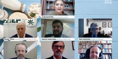 FPA reúne membros dos ministérios da Economia, Agricultura e Cidadania para debater cadeia leiteira